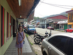 The streets of Boquete