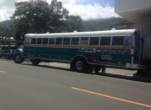Bus in Boquete