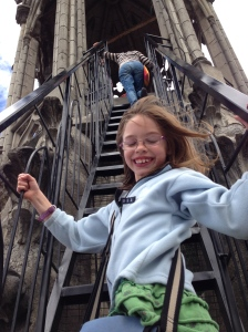 I didn't make it as high up as the 8 year old.