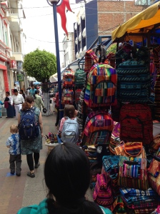 Shopping in Otavalo