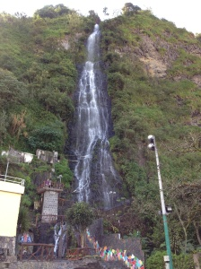 La Virgen waterfall