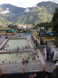 La Virgen municipal hot springs.