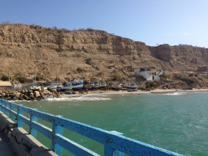 Mancora's fishing pier