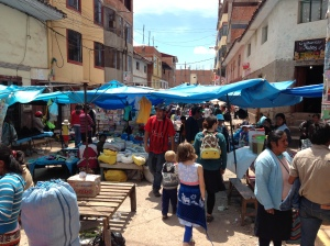 """The """"rag fair"""" market.  Pick pockets abound, and don't expect any smiles from the locals."""