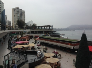 Larcomar shopping mall, Miraflores, Lima.