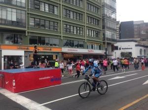 Lima's ciclopaseo.
